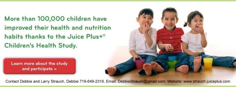 Juice Plus and the Children's Health Study