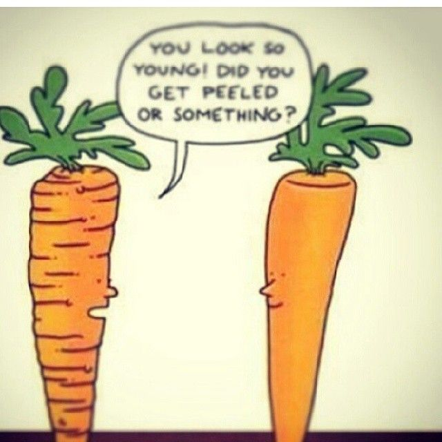 Carrots Talk About Chemical Peels